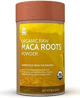 OMG! Superfoods Organic Maca Powder - 100% Pure, USDA Certified Organic Maca Root Powder – 8oz