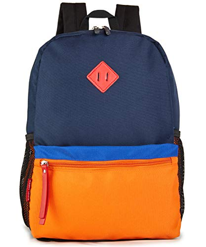 HawLander 3 to 6 Year Old Preschool Backpack for Toddler Little Kid School Bag for Boys - orange