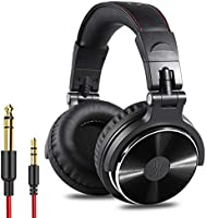 OneOdio Adapter-Free Closed Back Over Ear DJ Stereo Monitor Headphones, Professional Studio Monitor & Mixing, Telescopic...