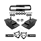 WULF 3.5' Adj Front Leveling Lift Kit compatible with 1999-2004 Ford F250 F350 Super Duty 4X4