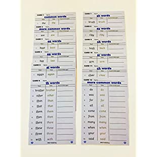 Common Words spelling Dry wipe Cards by Dyslexia-Consultants, EARLY YEARS PHONEMES REVISION PRACTICE, HIGH FREQUENCY WORDS