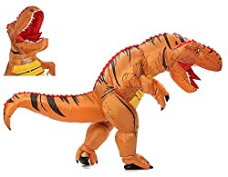 3. Funny Costumes Inflatable T-Rex Dinosaur Costume