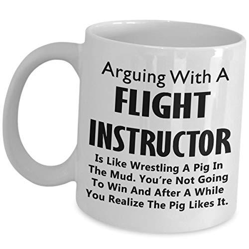 Flight Instructor Koffiemok – Wrestling A Pig In The Mud