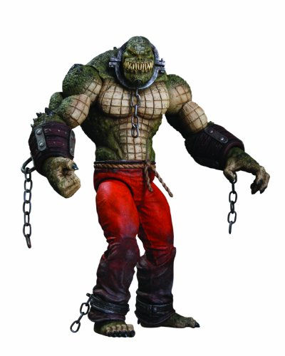 DC Direct Batman : Arkham City : Killer Croc Deluxe Action Figure