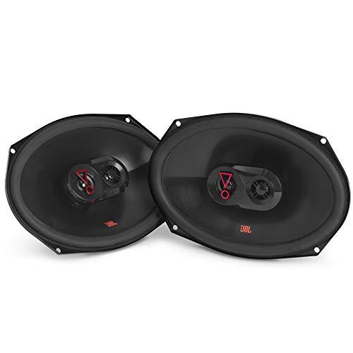 """JBL Stage 39637F - 6"""" x 9"""" Three-way car audio speaker, No Grill"""