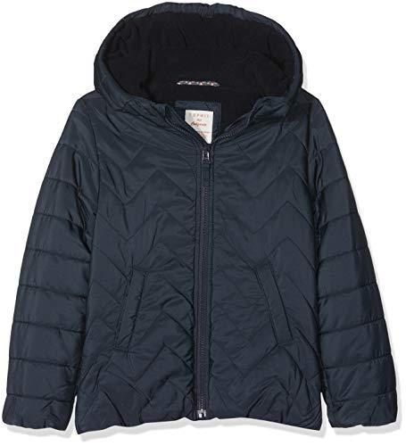 ESPRIT KIDS Mädchen RM4207309 Jacke, Blau (Midnight Blue 485), (Herstellergröße:104+)