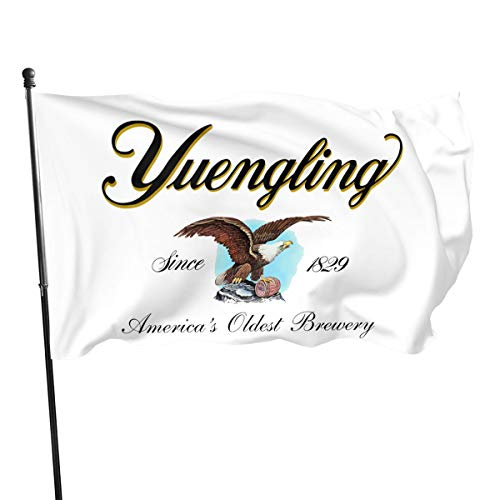 NOT BRAND ChenMingGao Home Decoration Yuengling Beer Logo Garden Flag Indoor Outdoor Flag 3x5 FT
