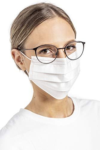 Medizinische Masken Typ IIR Größe S Marke WINTER nach DIN 14683:2019 Medizinische Einwegmaske 50 Stück CE-Zertifiziert Made in Germany 3-lagig