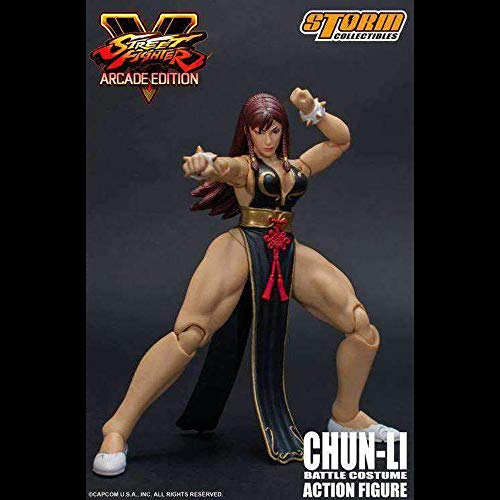 Storm Collectibles Street Fighter V Hot Chun-Li 1:12 Scale Action Figure