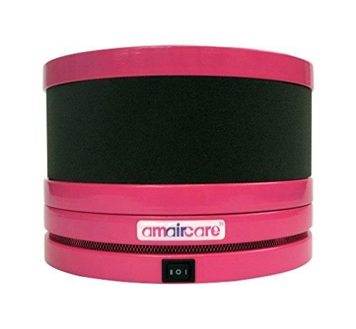Amaircare Mini Roomaid Rose - Compañero de habitación mini purificador del aire del cuarto de niños, rosa