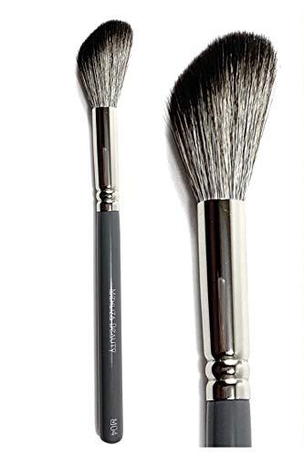 M04 Grand Angle Contour Pinceau Poudre Blush Surligneur Coudé Fluffy Synthétique Pinceau de maquillage