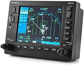 RealSimGear GNS530 Bezel | Realistic GPS Hardware for Flight Simulators | Student Pilot Navigation System | 5