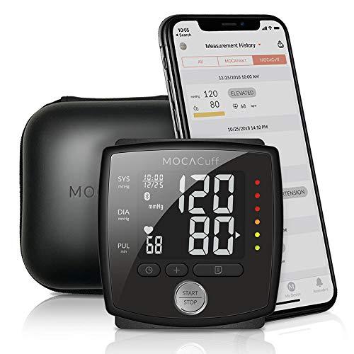 MOCACuff Bluetooth Blood Pressure Monitor, Wireless Fully...