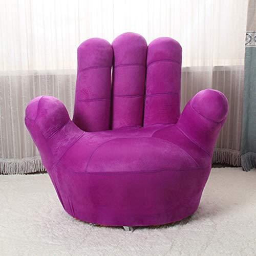 CZWYF Kinder-Sofa-Stuhl, Baseball-Handschuh-geformte Finger-Art-Kleinkind-Sessel-Wohnzimmer-Sitz, Kindermöbel Fernsehstuhl / (35.4x13.8x33.5inches / 27.6x11.8x25.6inches