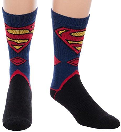 Superman Logo Socken multicolor