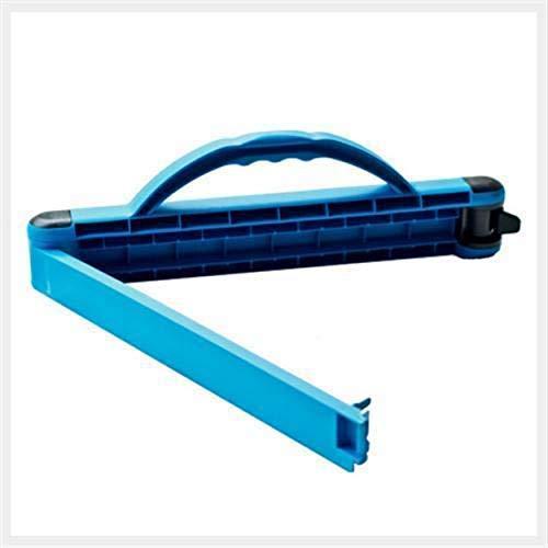 Tragfix Classic Die perfekte Tragehilfe- Tragegriff- Verschluß und Lagervorrichtung Blau für Säcke bis max. 20kg Made in Germany