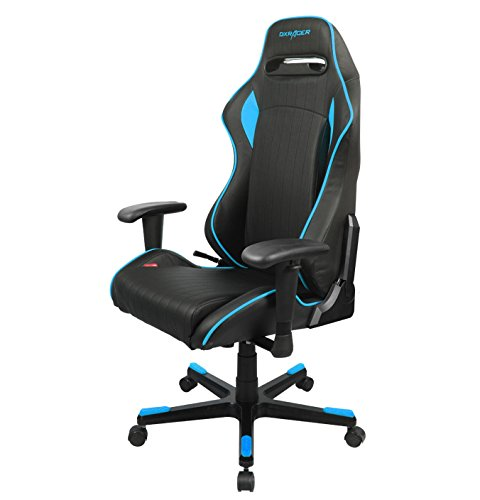 DXRacer R-Series Bureaustoel Zwart/Blauw