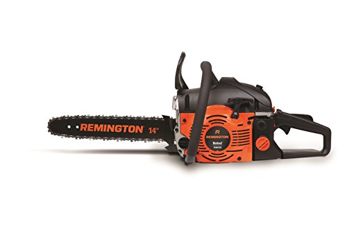 Remington RM4214 Rebel 42cc 2-Cycle 14-Inch Gas Powered Chainsaw Automatic Chain Oiler-Anti Vibration System, 42cc-14