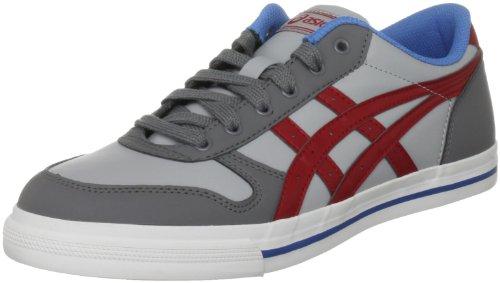 ASICS Aaron Sneaker Grey/Red, Grey, 37