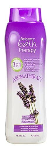 Aromatherapy 3-in-1 Body Wash, Bubble Bath and Shampoo, Lavender & Vanilla