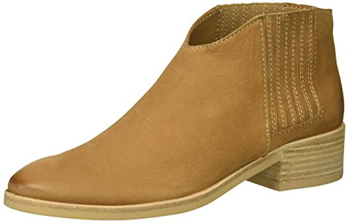 Dolce Vita Women's Towne Ankle Boot, tan Nubuck, 8 M US