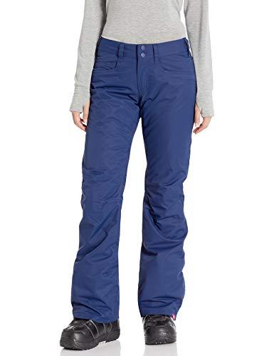 Roxy Snow Junior's Backyard Pant, Medieval Blue, M