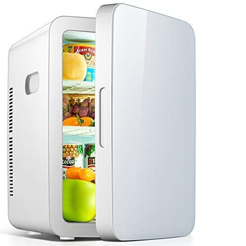 HAOT Mini Nevera,Refrigerador Doble para Auto pequeño de 20L / 25L, Mini...