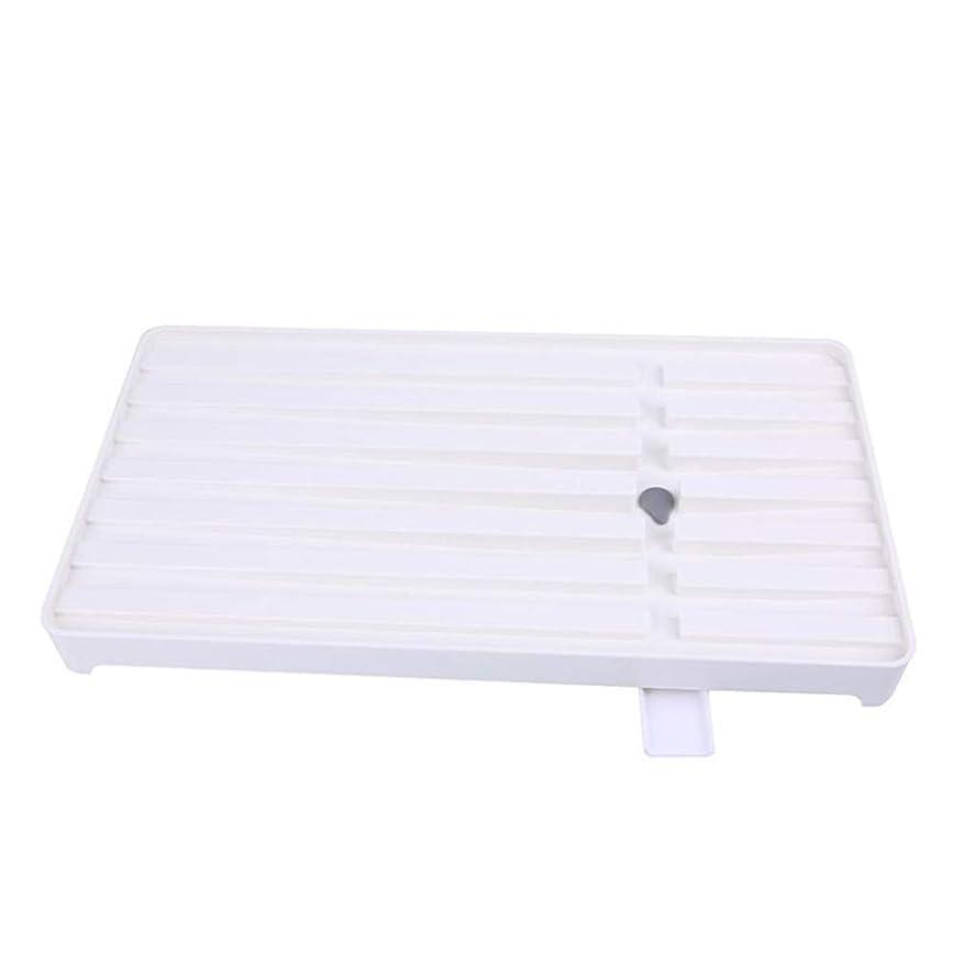 柔らかい残りテクニカルSevenfly 家庭用クリエイティブキッチン多機能長方形排水ラックキッチンシンクシンク箸とフォークドレイン