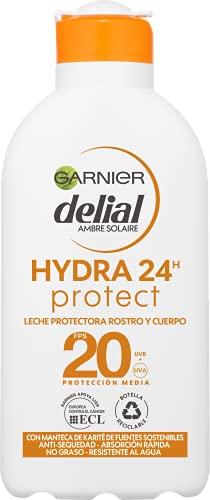 Garnier Delial Adultos Crema Solar Leche Protectora Hidratante Ip20-200 Ml