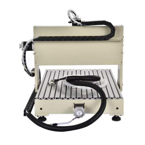 4 ejes 6040 CNC máquinas de grabado, USB 1,5 kW VFD RC,3D máquina de grabado