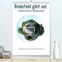 Bielefeld gibt es! Stadtansichten im Kugelpanorama (Premium, hochwertiger DIN A2 Wandkalender 2022, Kunstdruck in Hochglanz): Fotos aus meiner Lieblingsstadt (Heimatstadt): Bielefeld (Monatskalender, 14 Seiten )