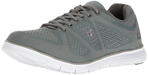 Propet Men's TravelFit Walking Shoe, Grey, 8 5E US