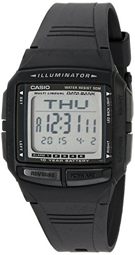 Casio uomo DB36 – 1 AV Multilingual Databank Watch
