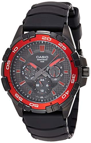 Casio Men's MTD1069B-1A2 Round Analog...
