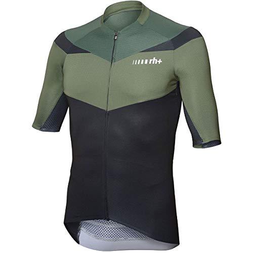 rh+ Maglia Ciclismo Team Uomo, Verde, M