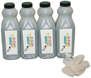 Toner Refill Store 4 Pack Black Toner Refill for The HP C4127X 27X C4127A 27A Laserjet 4000 product image