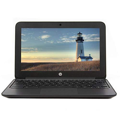 HP Chromebook 11 G4 11.6in Intel Celeron 2.16GHz 4GB Ram 16GB Flash Webcam Google Chrome OS Black (Renewed)