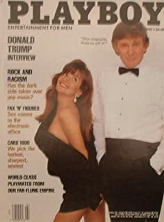 Playboy Adult Magazine, July 1990 (Taiwan Edition) (President Donald Trump on Cover)