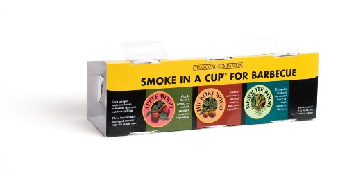 Charcoal Companion Smoke in a Cup Set, Hickory, Mesquite, Apple CC9397