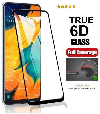 Magic Deal Full Coverage 6D/11D Curved Screen Guard Protector Tempered Glass for Samsung A31