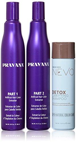 Pravana Hair Color Remover Combo Set