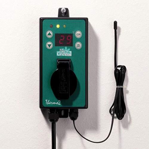 Florino Thermostatgesteuerter Lüfter Gewächshauszelt; Thermostat Regelung