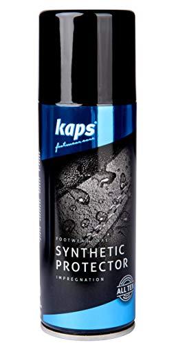 Kaps impregneerspray voor waterafstotend kunstleer, synthetisch leer, veganistisch leer, gevoelige textiel en stoffen, bescherming voor synthetisch leer, Shoe Protector