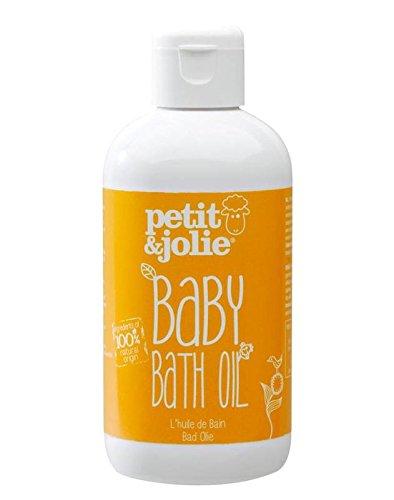 Petit&Jolie Huile de bain 200 ml - Tout naturel, Testé et cerfifié