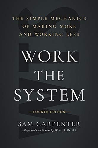 Work the System The Simple Mechanics of Making More and Working Less 4th Edition product image