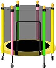 Oefening Trampoline Trampoline met behuizingsnet, Kinder Indoor Trampoline Veiligheid Rebounder Spring Pad Mini Oefening T...