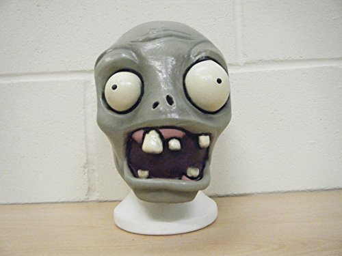 WRESTLING MASKS UK Plantas V Zombis Disfraz Cabeza Completa Halloween Deluxe Máscara