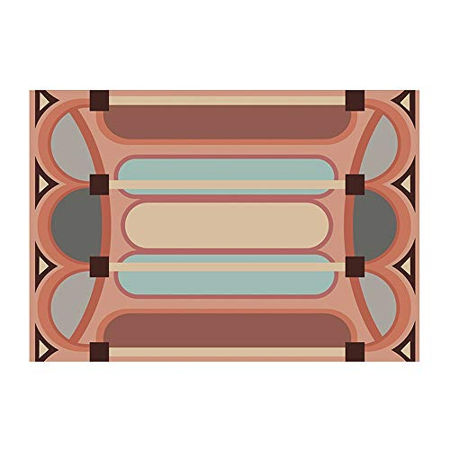 JL Jian Lin Teppich, kreativer Teppich Wohnzimmer Licht Luxuxschlafzimmer Mat Schlafsofa Decke Lammfell Rutschhemmende weich und bequem Teppich (2 Größen) Teppich (Size : B)
