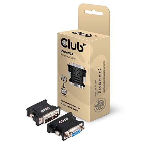 CLUB3D DVI to VGA video converter/adapter - Adaptador para cable (DVI-I, VGA,...