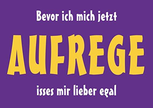 Grafik Werkstatt Bielefeld Gefällt Mir Bevor ich Mich jetzt Aufrege isses Mir Lieber egal Magnet, Metall, Uni, 9 x 6,5 cm